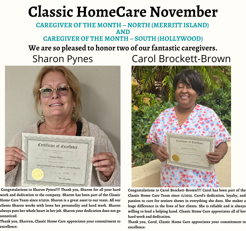 Novembers Caregivers
