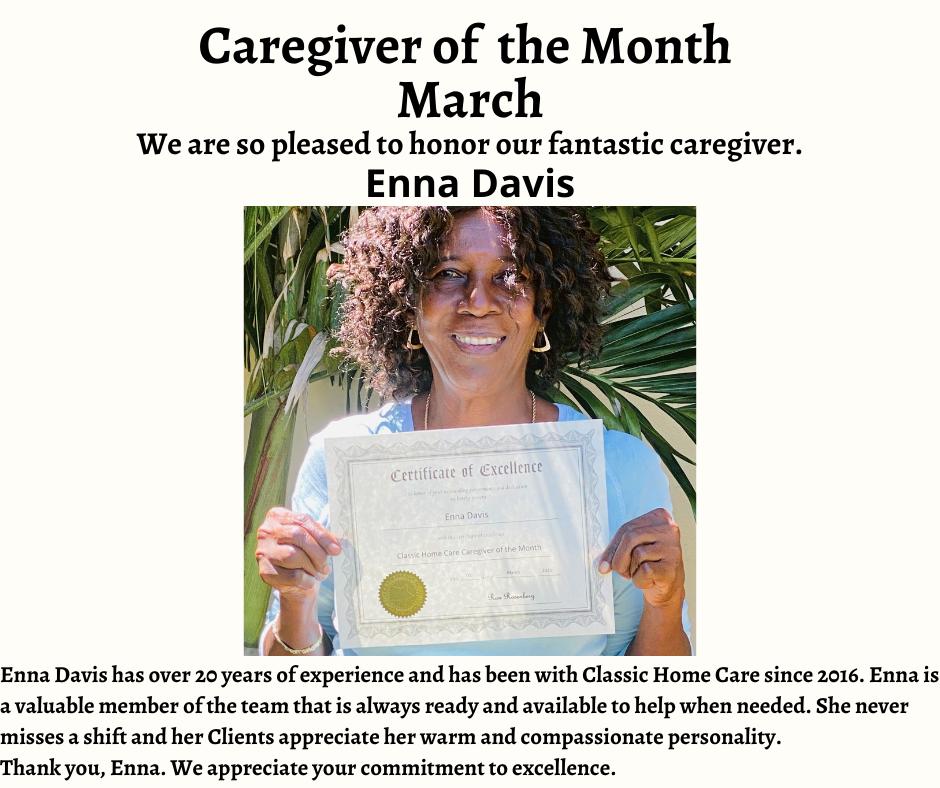 March Caregiver